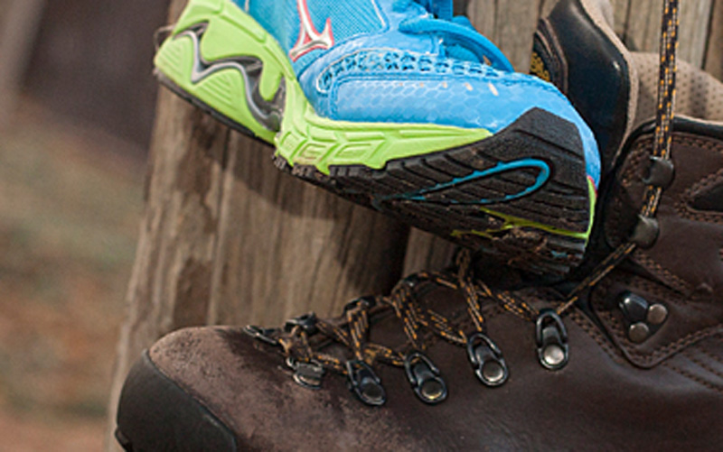Hiking Boots vs Trail Runners