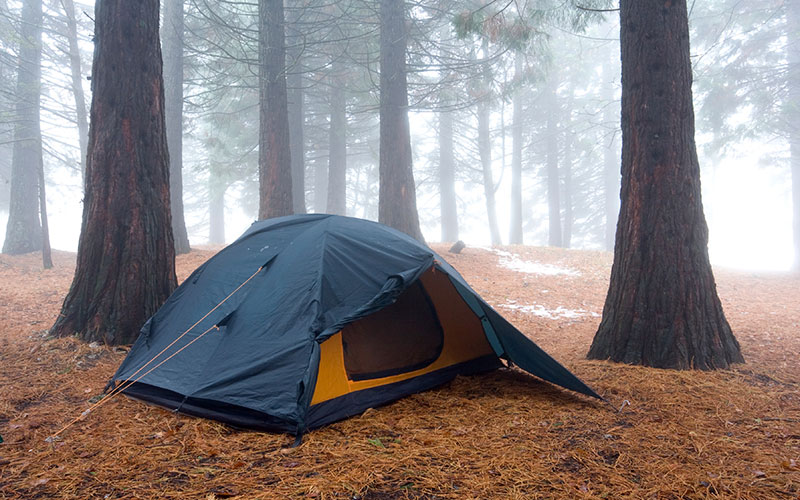 How to Set Up Tent Guylines