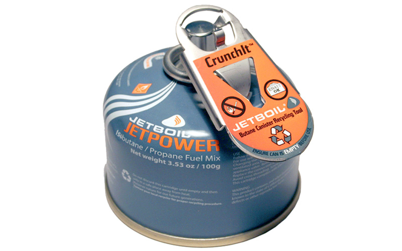 How Do You Recycle a Used Stove Fuel Canister?
