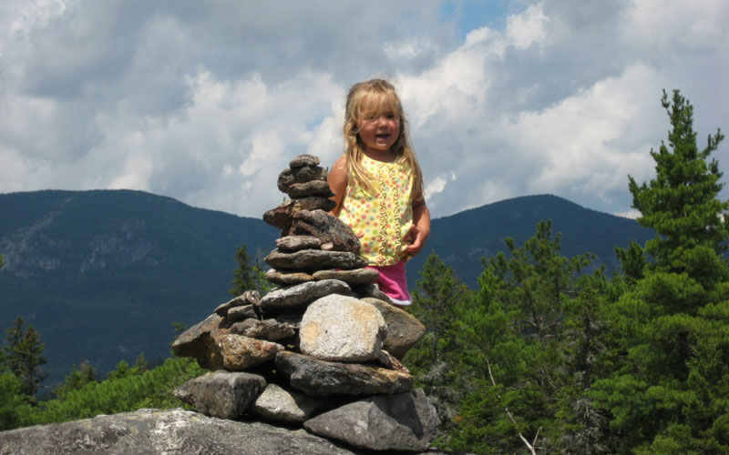 Outdoor Trips with Kids: Blueberry Mountain