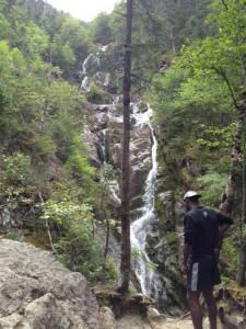 Waterfall on Ammonoosuc Ravine Trail