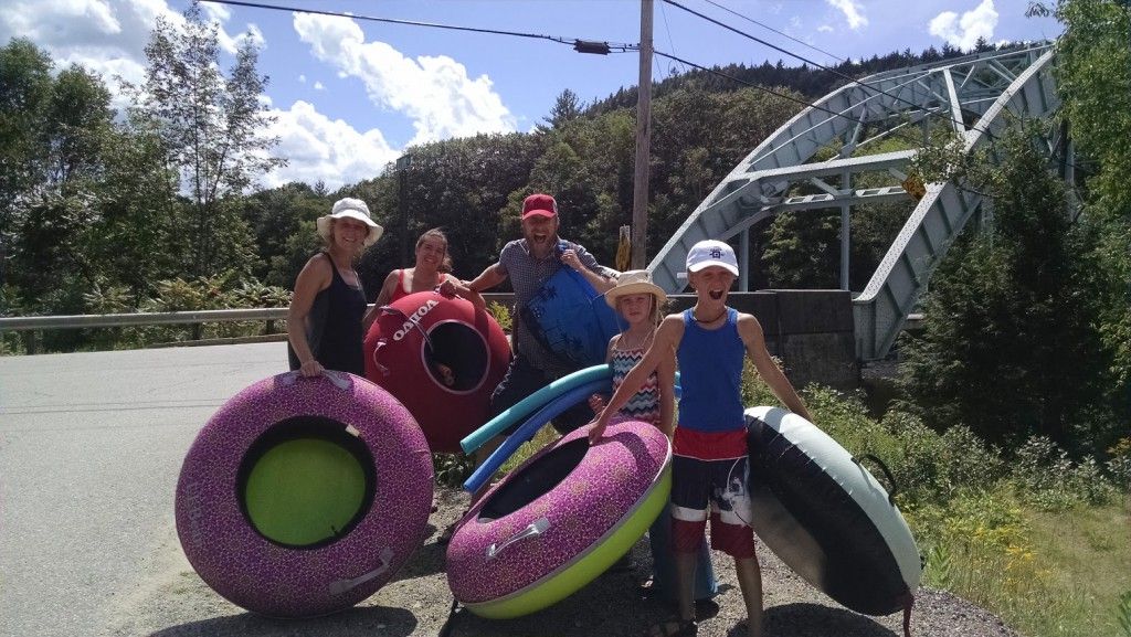River Tubing with Kids