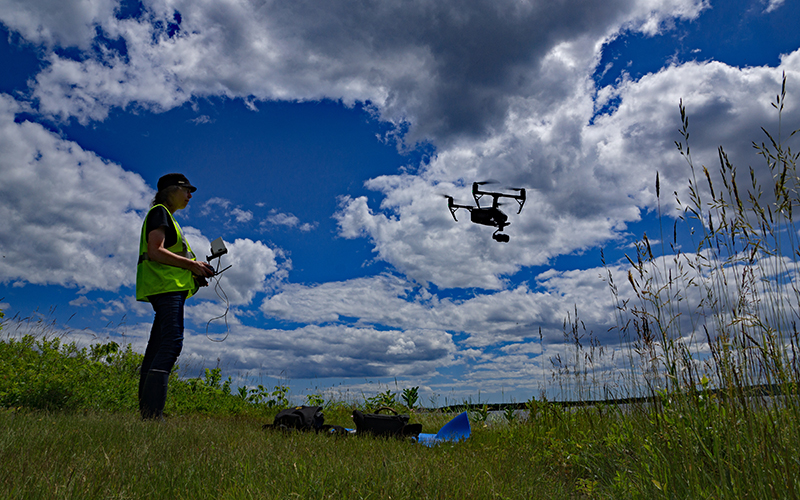search-and-rescue drones