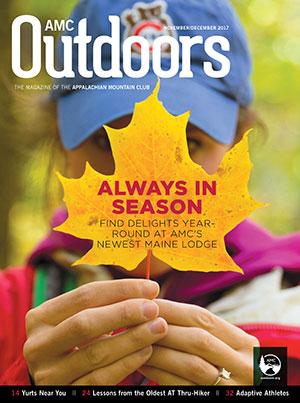 AMC Outdoors cover November/December 2017