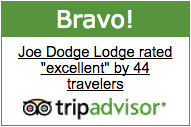 Joe Dodge Lodge at Pinkham Notch TripAdvisor Bravo Badge