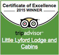 Little Lyford Lodge TripAdvisor 2015 Certificate of Excellence Badge