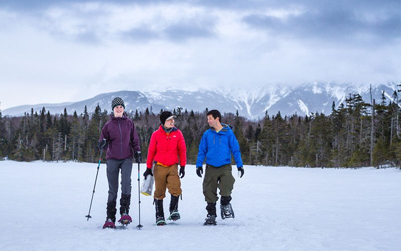 winter national trail hikes for winter