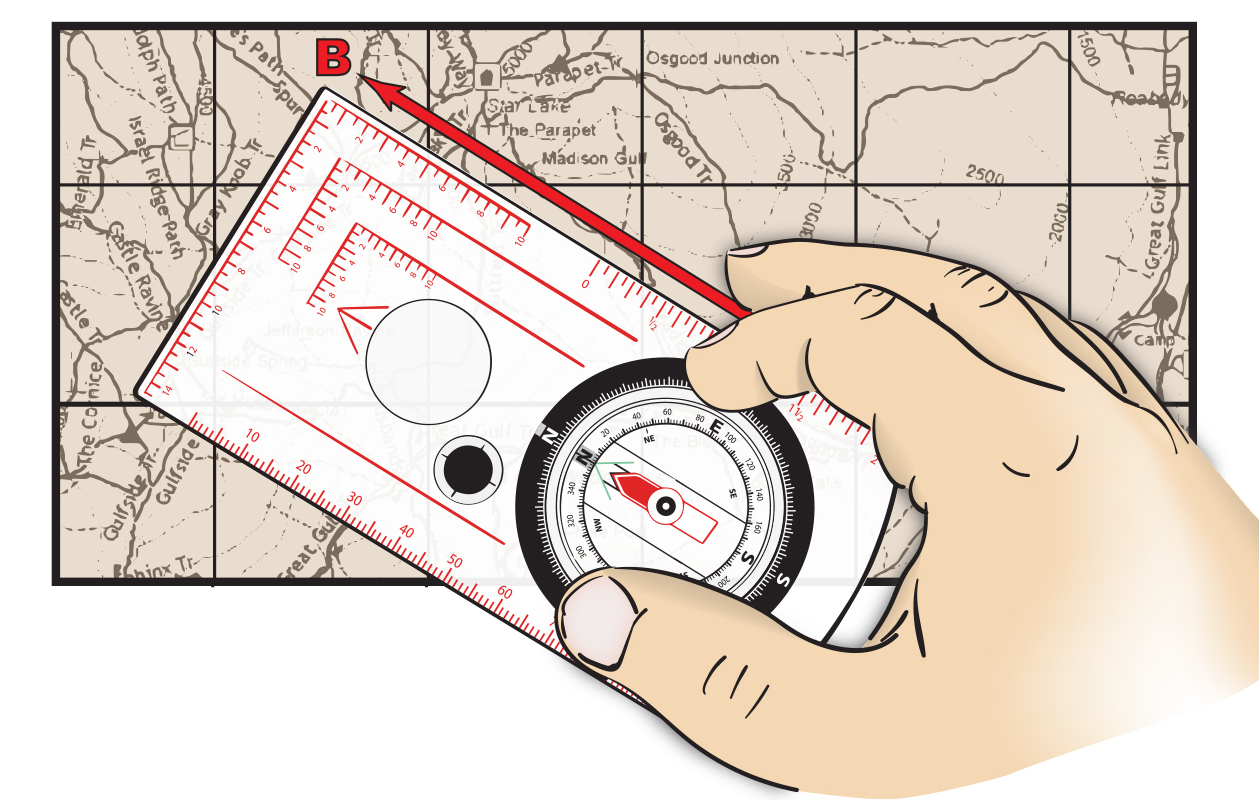 How to Orient a Compass