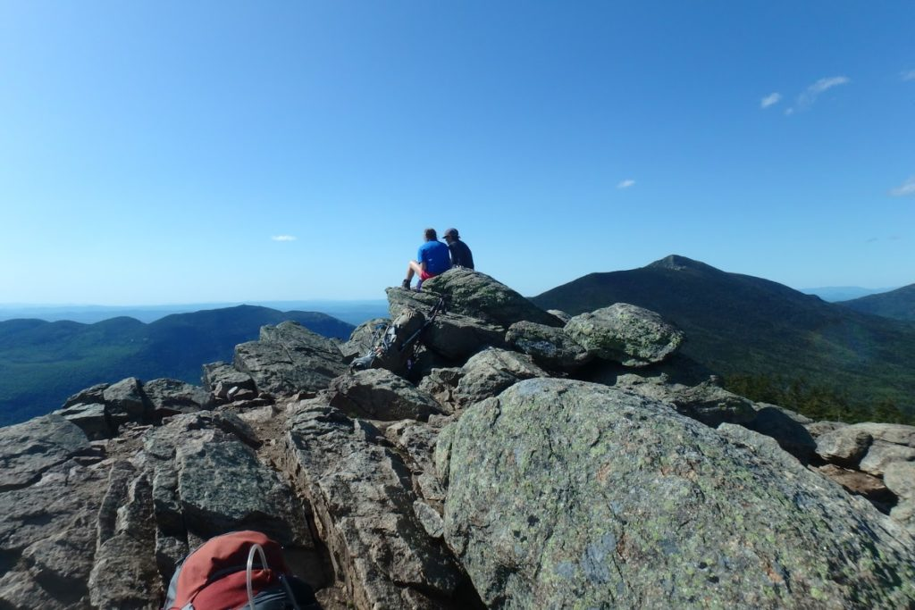 The view across Franconia Ridge from Mt. Liberty on a pristine, early summer day