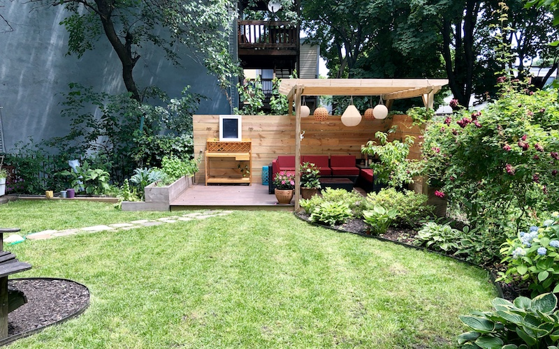 diy backyard design