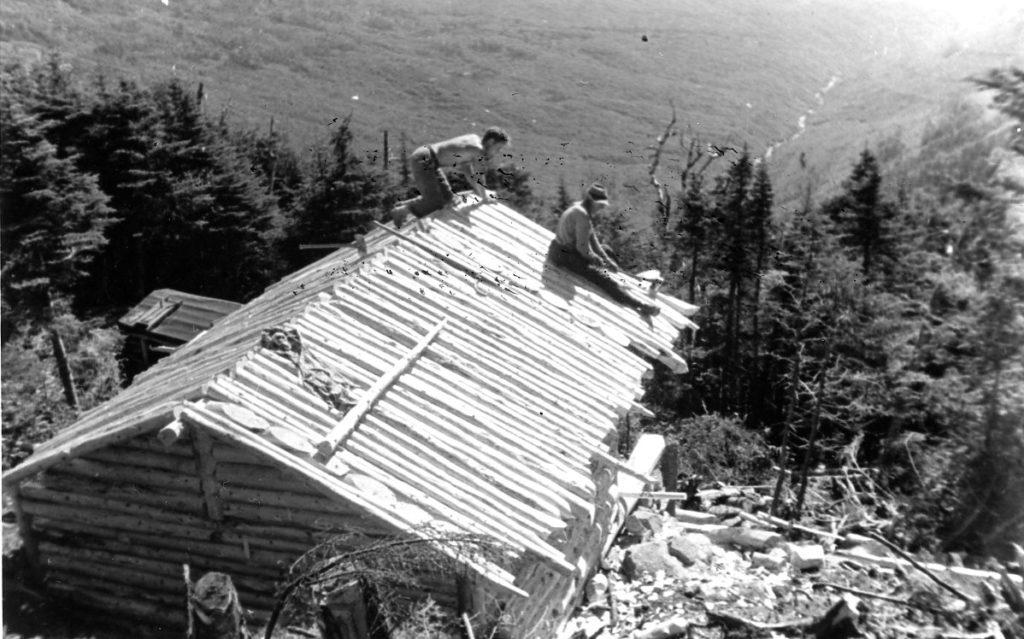 Rebuilding Guyot Shelter_1939