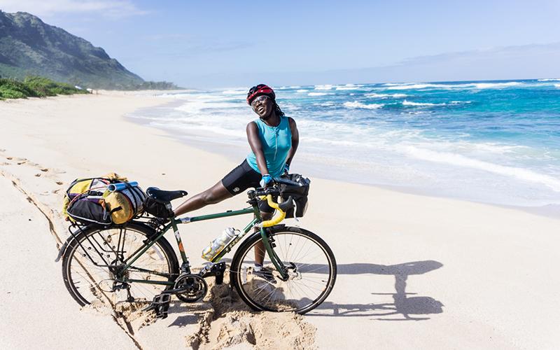 bike touring
