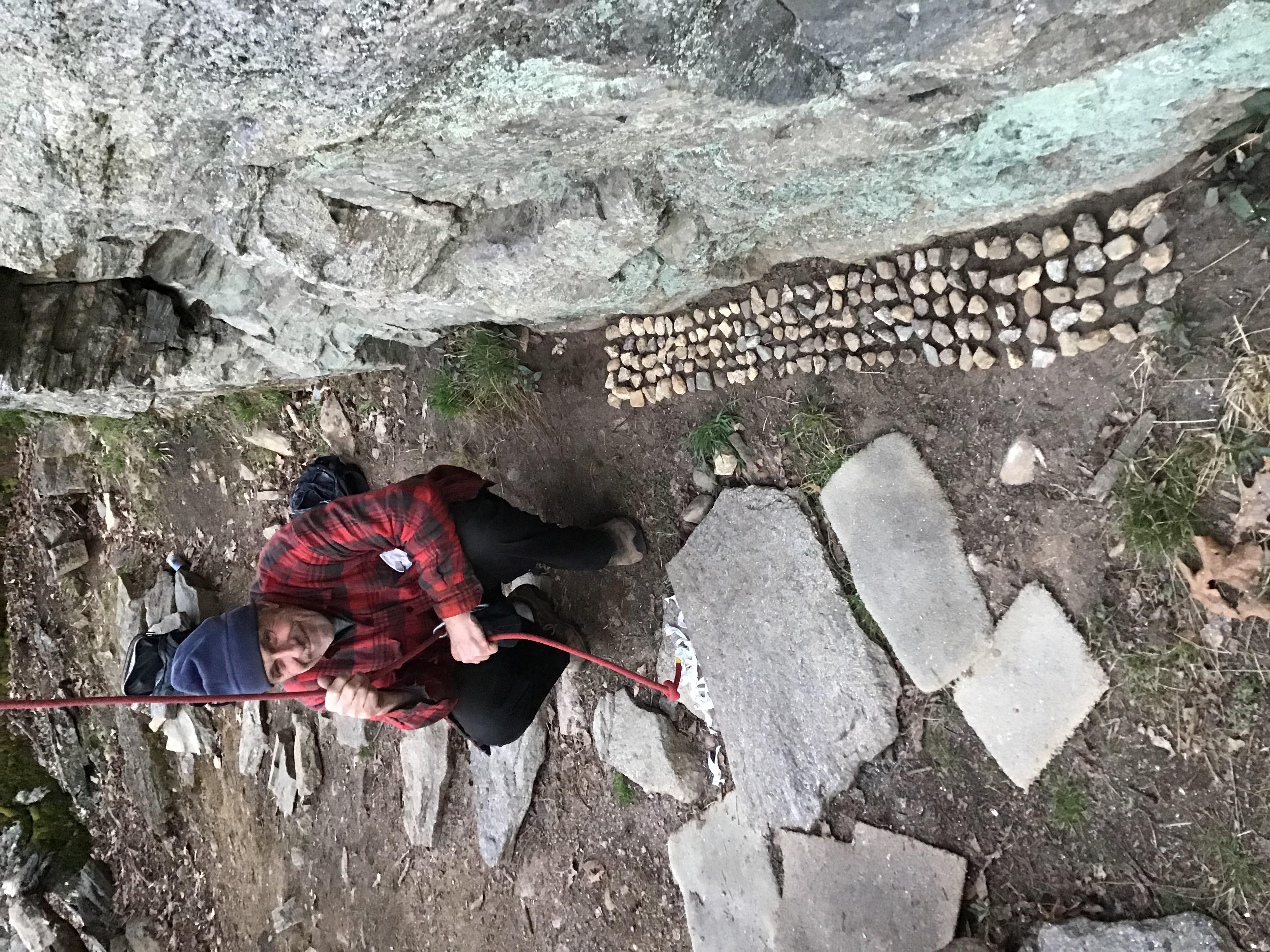 Stephen Kurczy's climb