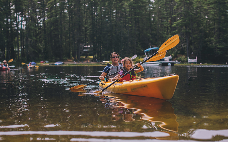 Activities like paddling are as good for our mental health.
