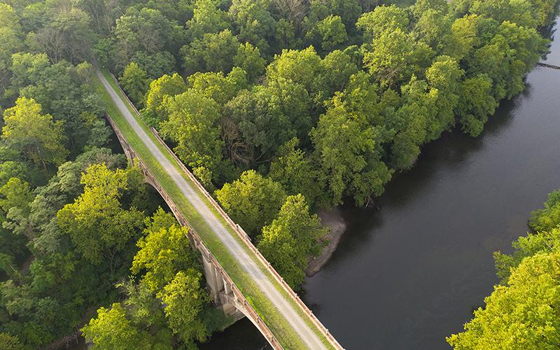 The Schuylkill River Trail in Pennsylvania