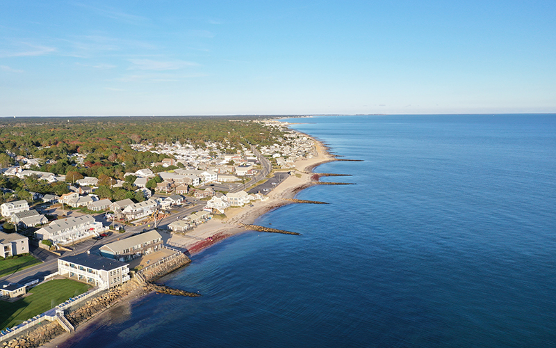 Dennis, Mass. faces stronger storms and sea level rise as a result of climate change.