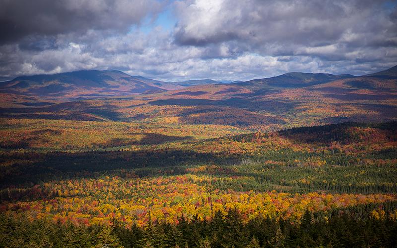 Maine's 100-Mile Wilderness.