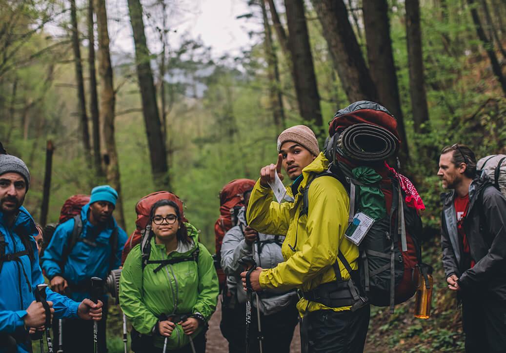 A YOP Outdoor Leadership Training