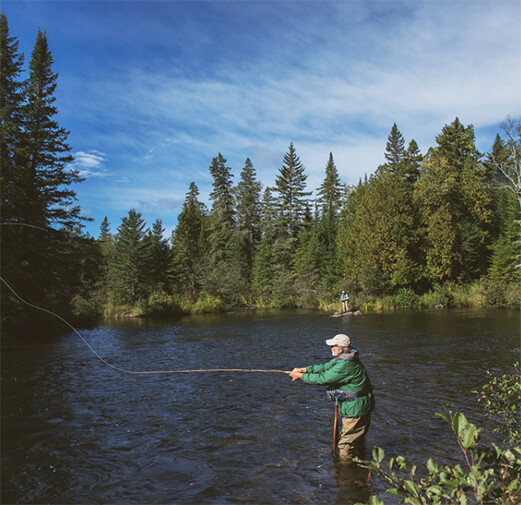 Image of Man Fishing