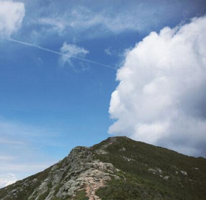 blue sky in the Presidential Range
