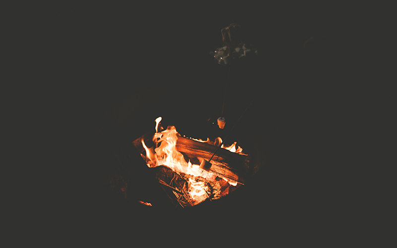 Knowing if, when, and how to start a campfire is a key component of Leave No Trace.