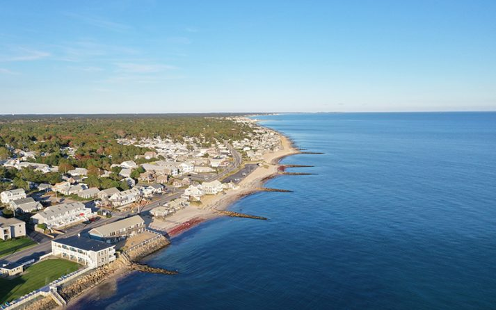 Dennis, Mass., is one of the coastal communities under threat from sea level rise.