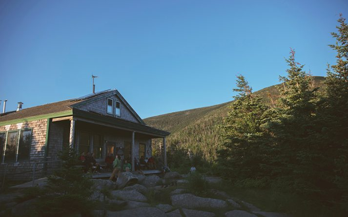 AMC's Galehead Hut will be closed the month of May due to COVID-19 restrictions.