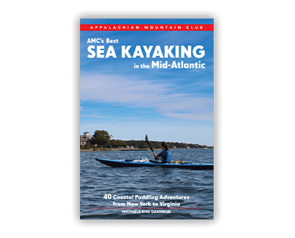 Best Sea Kayaking in the Mid-Atlantic book cover