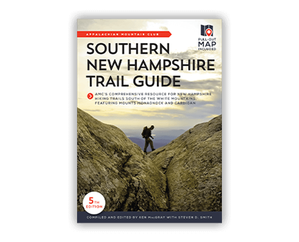 Southern New Hampshire Trail Guide book cover