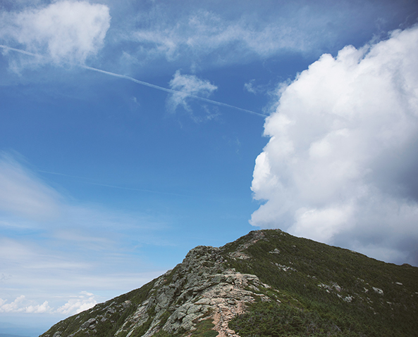 Franconia Ridge in New Hampshire