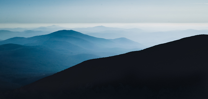 'Blue Summit View from Moosilauke'