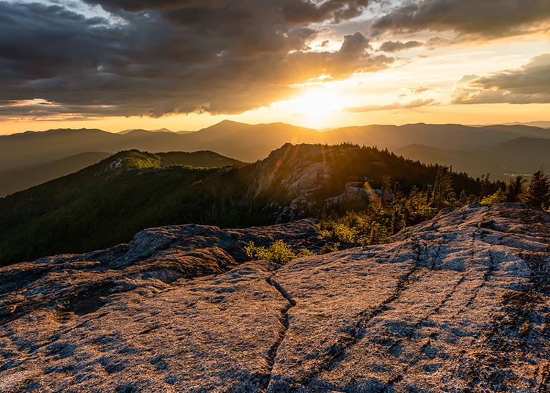 'Jay Range Sunset'
