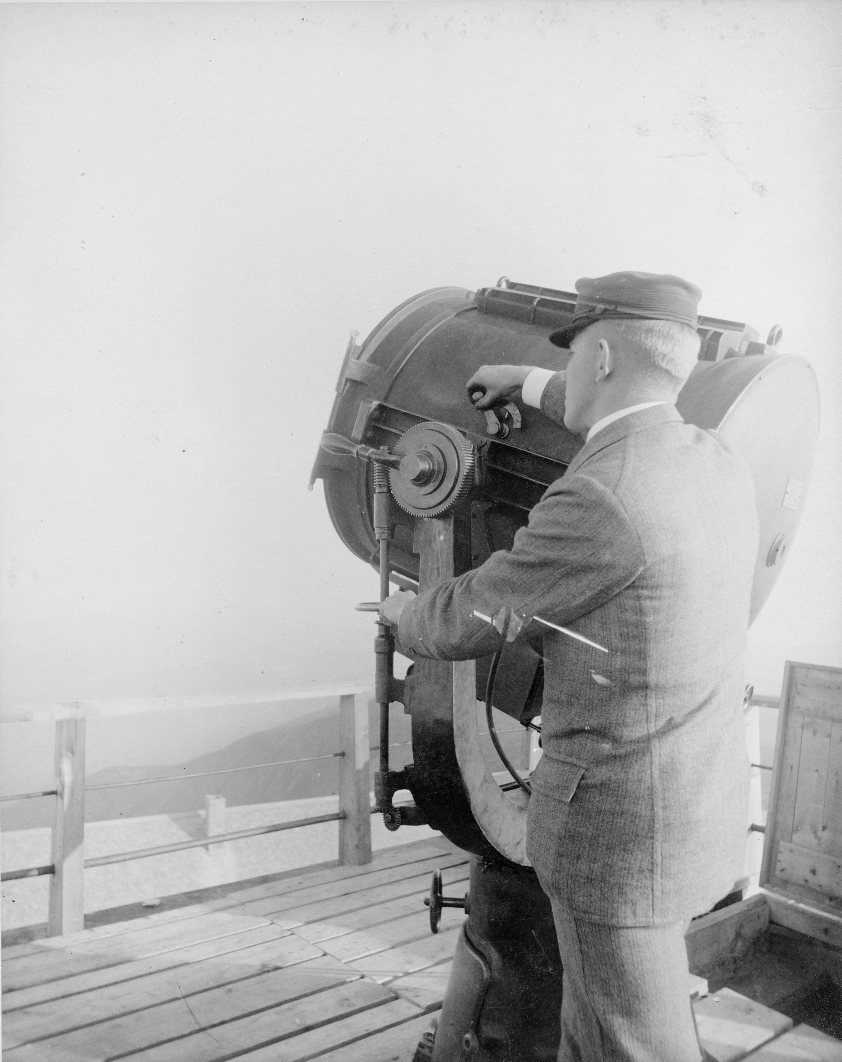 mount washington tower searchlight
