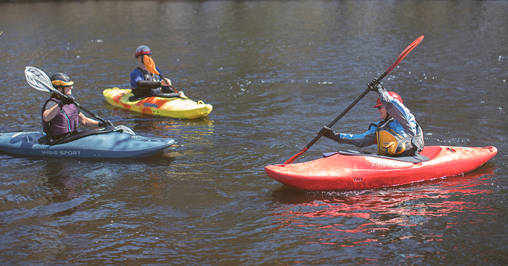 Current Affairs: Swiftwater Paddling for Beginners