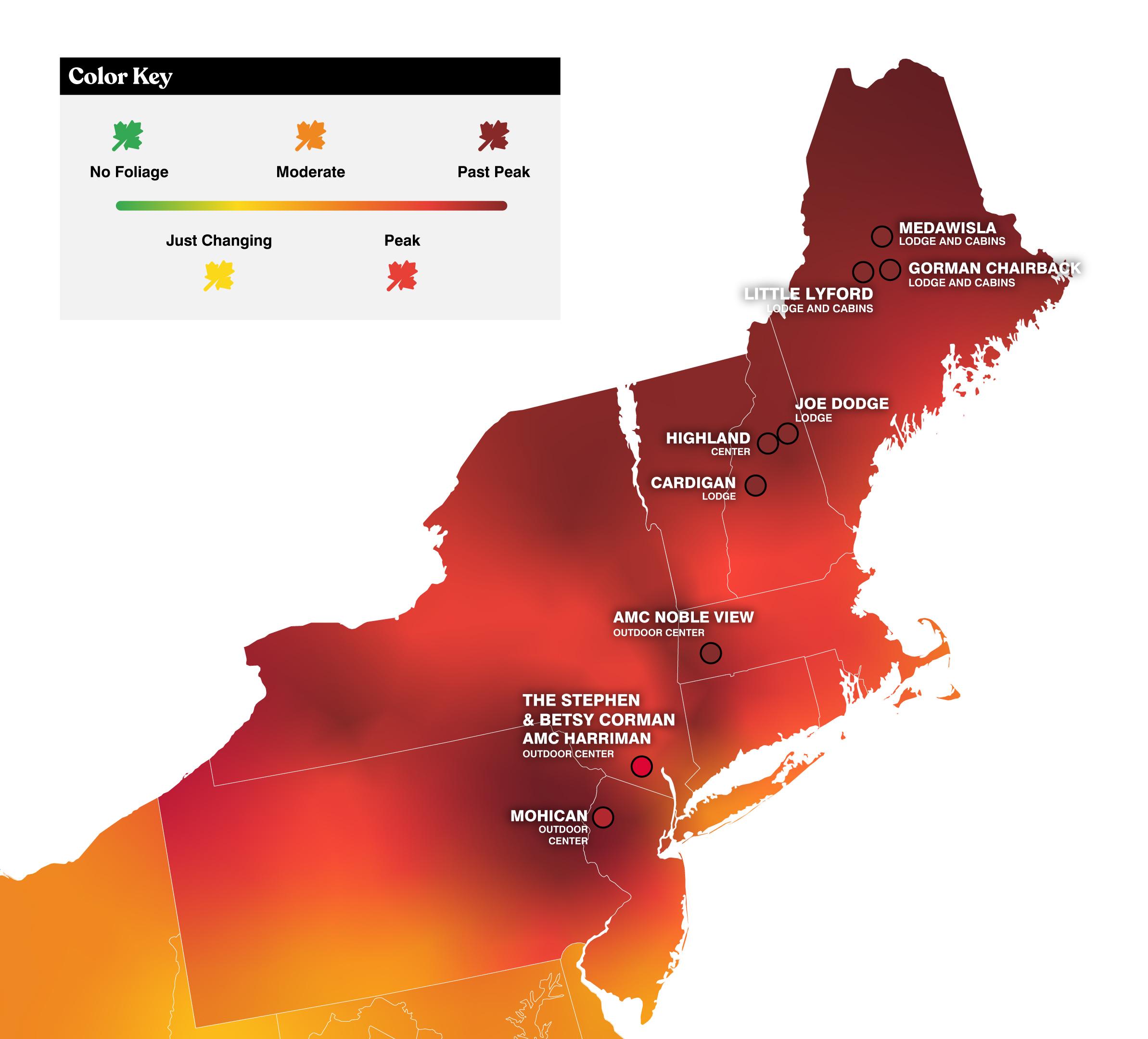 foliage prediction map